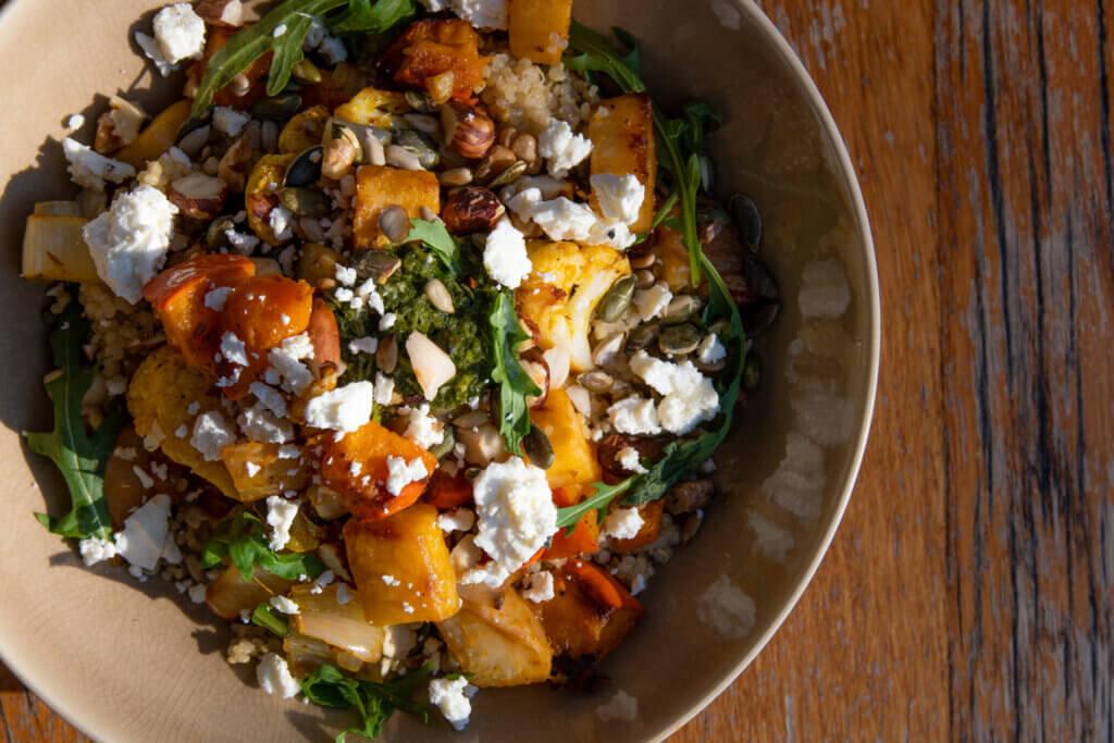 Wilde Wortels - coronavirus - maaltijden bezorgen Utrecht - quinoa met seizoensgroenten